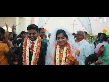 Tamil Best Christian Wedding Highlights 2019 | GABY & MIKE | Maharasi Mahal in Tirunelveli