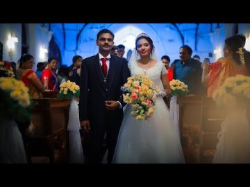 Tamil Best Christian Wedding Highlights 2018 | JENITHA & THOMAS